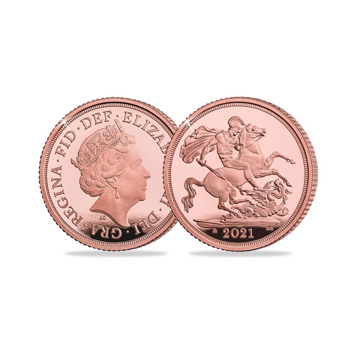 2021 United Kingdom Gold Proof Sovereign