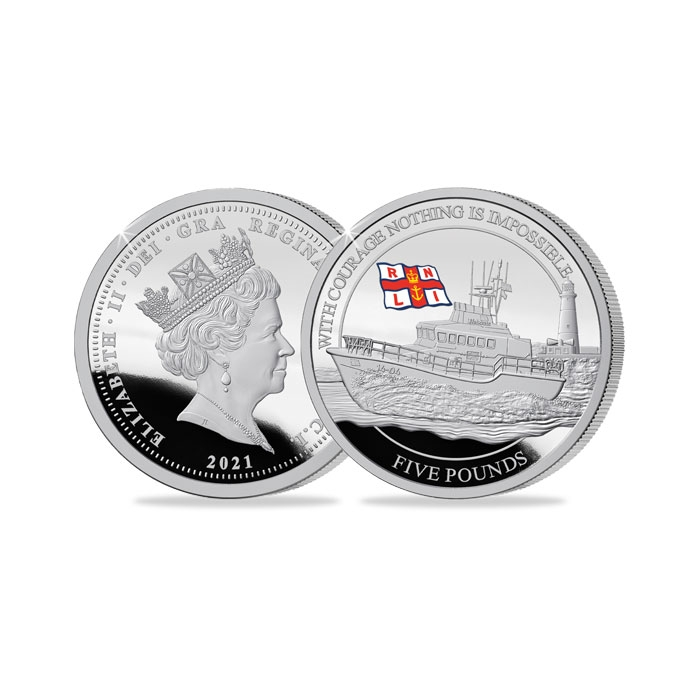 2021 RNLI Silver Proof Crown Coin