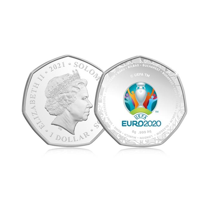 2021 UEFA Euro 2020 Quarter Ounce Silver Proof Coin
