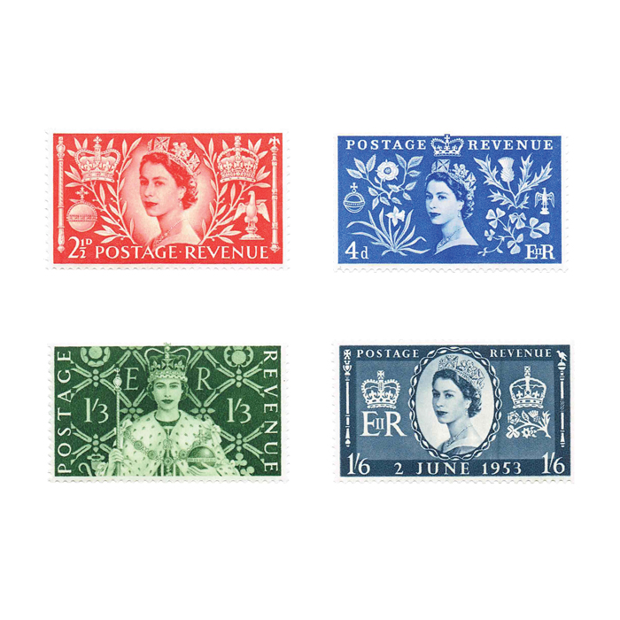 Queen Elizabeth II Coronation Stamp Collection