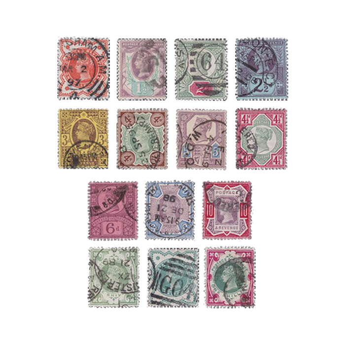 1887 Queen Victoria Jubilee Stamp Collection
